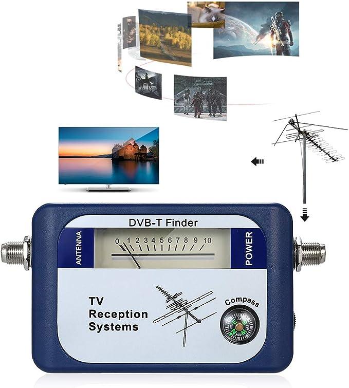 LWQ La Señal De Satélite Digital Buscador De Medidor, Aéreo ...
