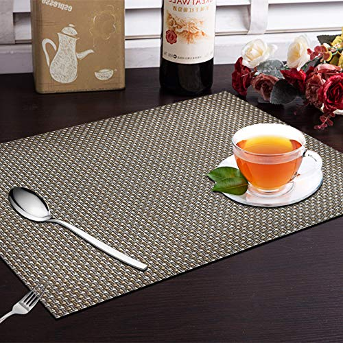 Yellow Weaves™ 6 Piece Dining Table Placemats Price & Reviews