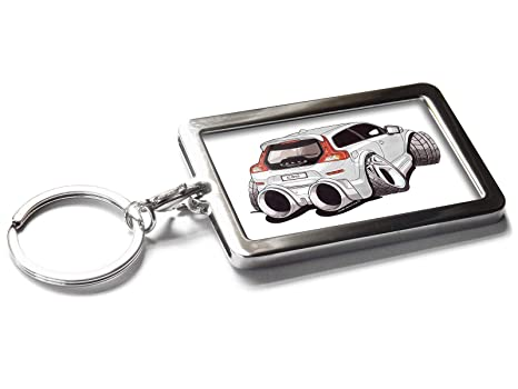 Amazon.com: Koolart Cartoon Car Volvo C30 Llavero de metal ...