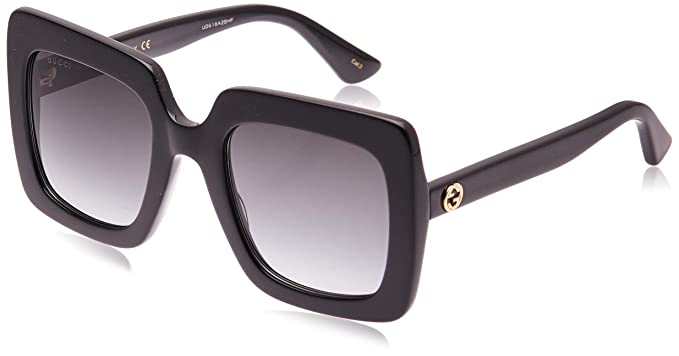 Amazon.com: Gucci GG0328S - Gafas de sol cuadradas ...