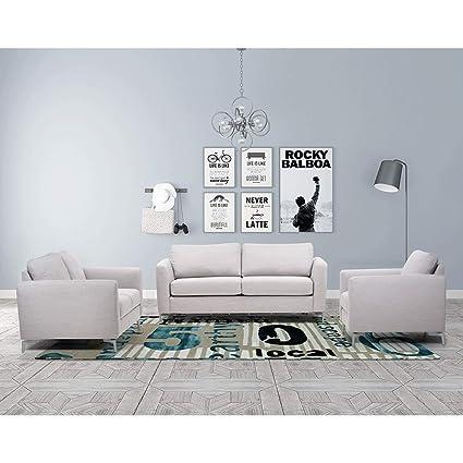 Sensational Amazon Com Overstock Luca Home Modern Alexa Sofa Bed Creativecarmelina Interior Chair Design Creativecarmelinacom
