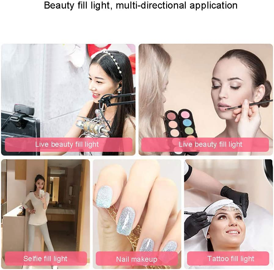 LED Ring Light Remote Controller 45W Bi-Color 3200K-5600K Dimming Flash Light Lighting Kit for Portrait Fashion Photography and YouTube Self-Portrait Video Shooting
