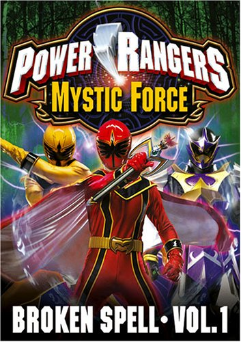 - Power Rangers Mystic Force - Broken Spell (Vol. 1)