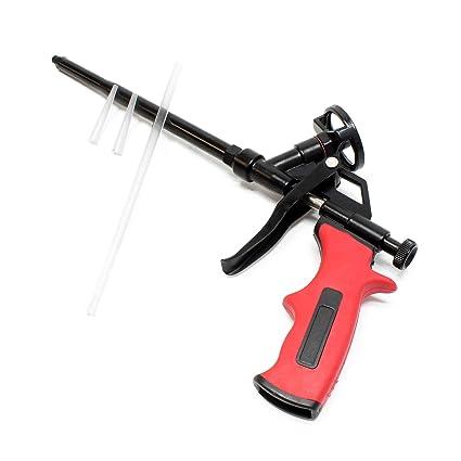 Pistola espuma poliuretano Revestimiento PTFE Trabajos aislamiento ...