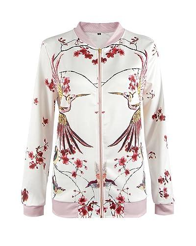 Mujeres Elegante Casual Manga Larga Rebecas Outwear Chaqueta Aspicture XL