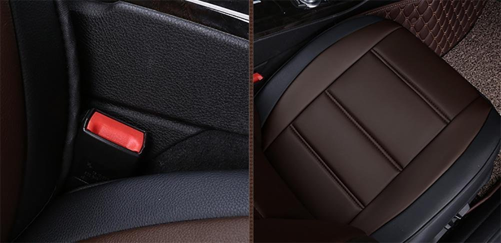 Set-Easy 5 seats car seat cushion filling and whole to clean leather Programmable Universal Fit seat covers car by YAOHAOHAO (Image #4)