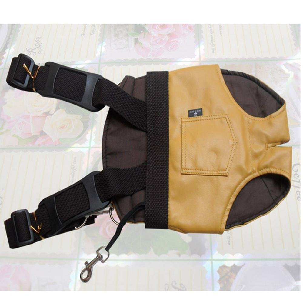 A L A L Daeou Pet Backpack Doggy Backpack, Double Shoulder, Soft Dog Bag, cat Bag, Chest Bag, Soft Skin.