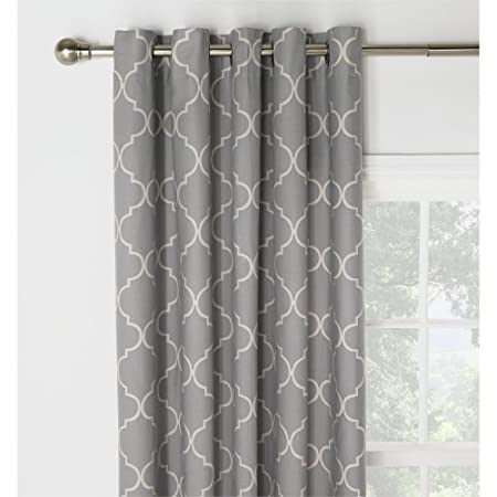 Collection Trellis Lined Eyelet Curtains