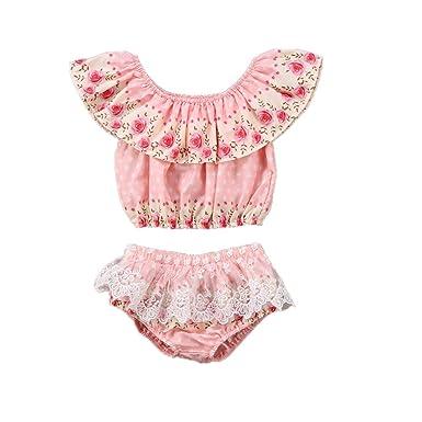 Amazon.com: 2 piezas de pantalones cortos de tutú para bebés ...