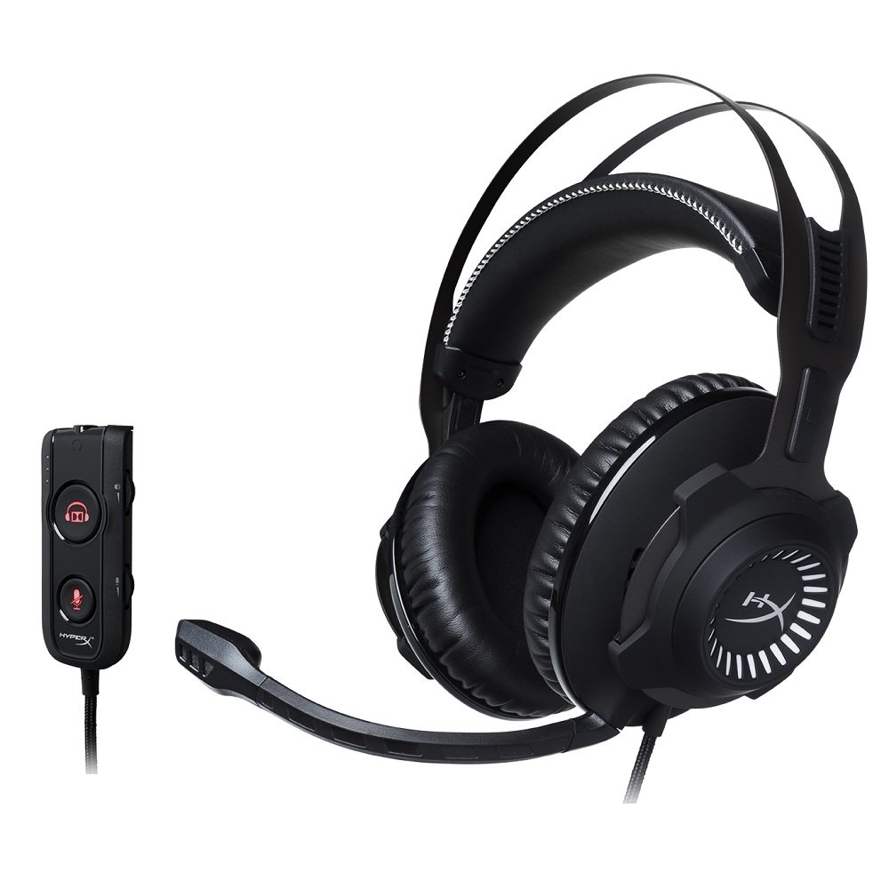 Kingston HyperX Cloud Revolver S Dolby Surround 7.1 Headset (PCs/Xbox One/PS4/Wii U/Mac) HX-HSCRS-GM/EM