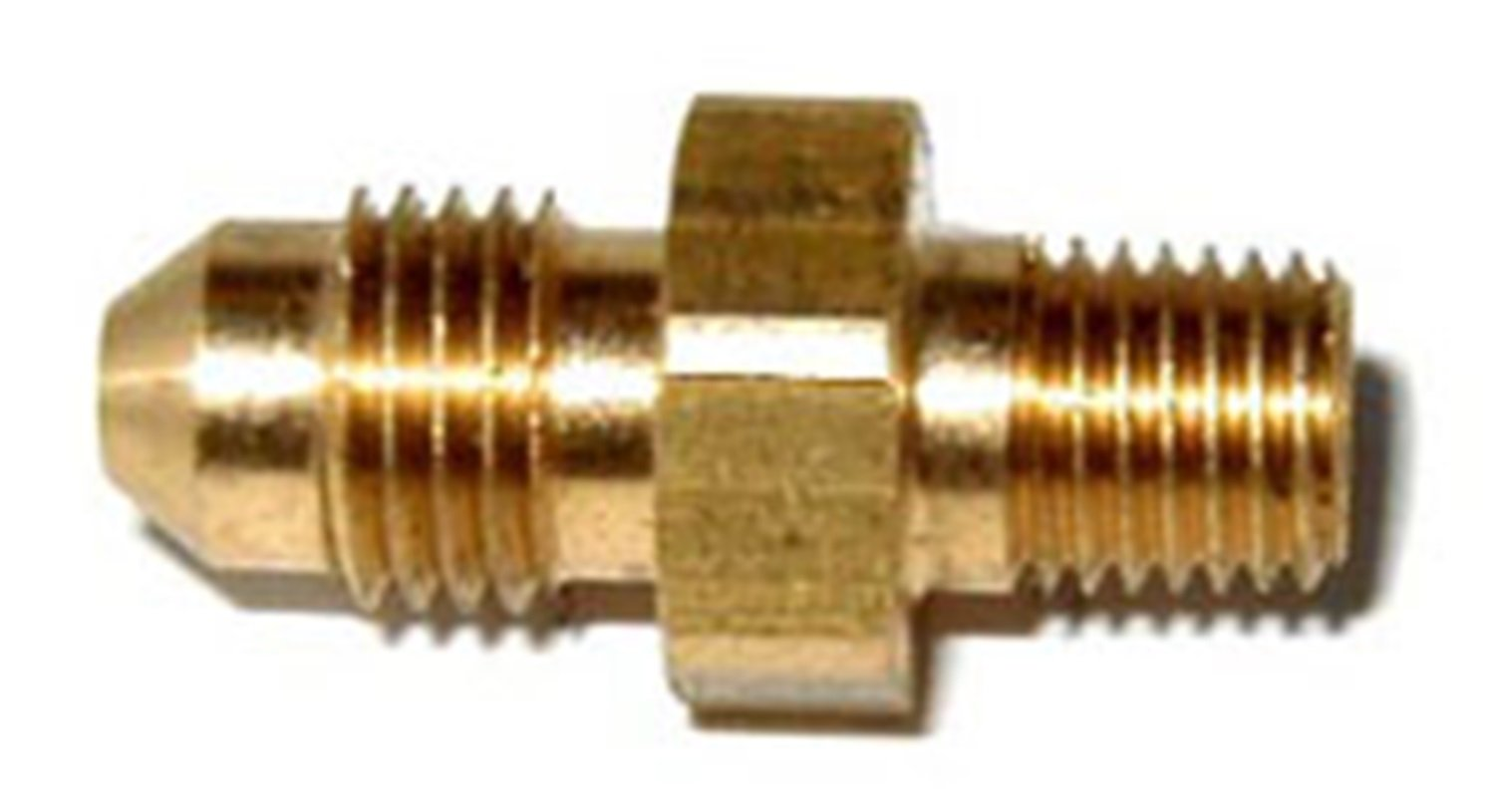 NOS 17944NOS Brass 3AN to 1//16 NPT Straight Adapter Fitting