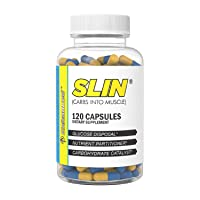 Enhanced Labs - SLIN Carb Converter & Blocker - Insulin Mimetic & Glucose Disposal Agent for Increased Muscle Strength for Men & Women (120 Capsules)