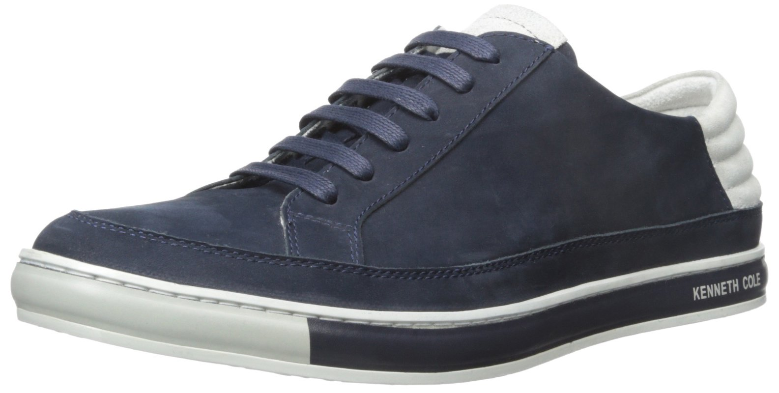 Kenneth Cole New York Men's Brand Stand Fashion Sneaker, Navy, 11.5 M US