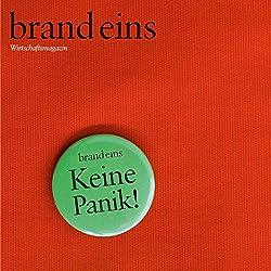 brand eins audio: Panik