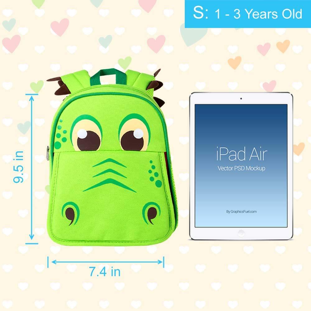 Toddler Backpack 12 Unicorn Sequin Preschool Bag for Girls