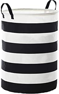 WEHUSE Kids Laundry Basket Collapsible Hamper, 22 Inches Tall Large Fabric Dirty Clothes Hampers for Storage