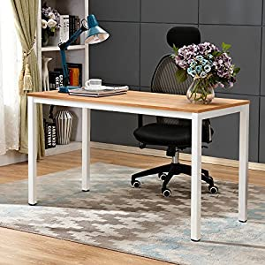 Need Computer Desk Office Desks 138x55cm Sturdy Wooden Desk Conference Table AC3BW-140-NEW
