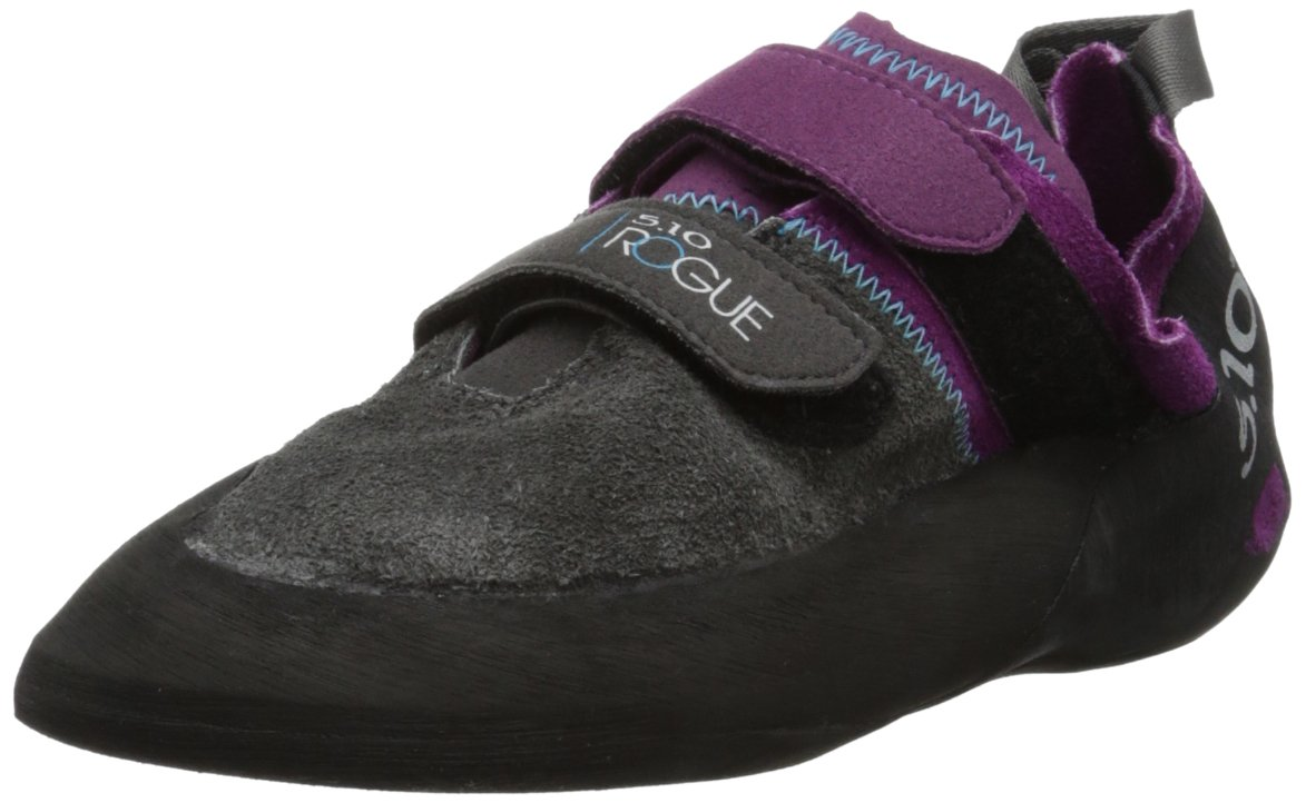 Five Ten Women's Rogue VCS Climbing Shoe,Purple/Charcoal,9 M US