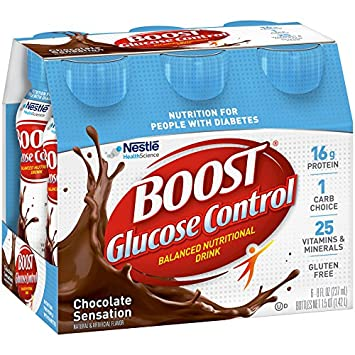 Boost Glucose Control Rich Chocolate Ready To Drink, 8 oz, 12 Count