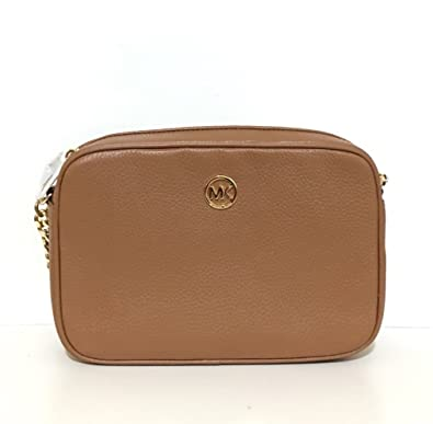 4bfb740836e3da Michael Kors Fulton Leather Large East West Cross-body with Back Slip  Pocket: Amazon.co.uk: Shoes & Bags