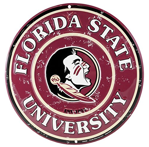 Party Explosions Florida State University Seminoles Decorative Wall Sign -