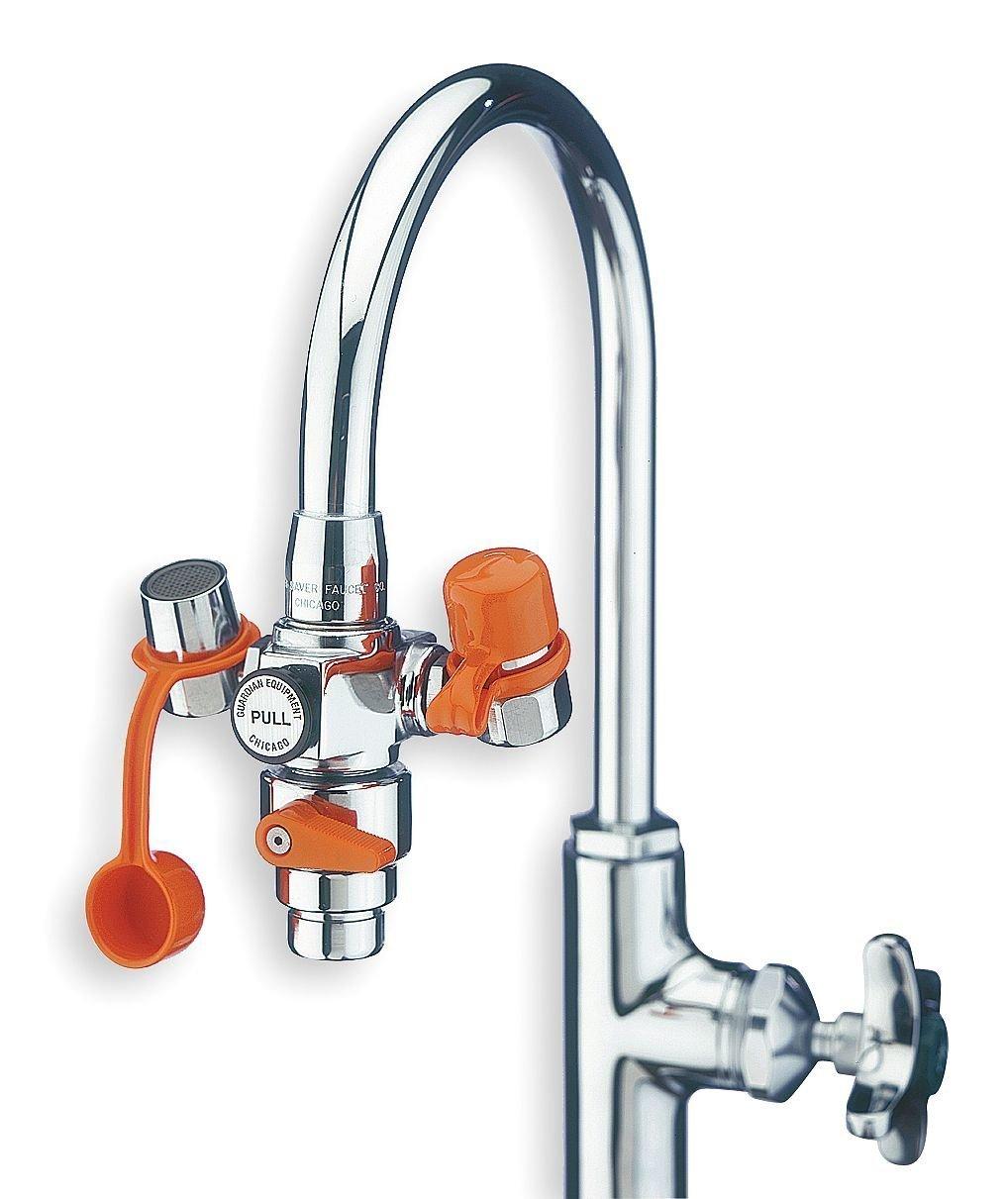 Guardian G1200 Plastic EyeSafe Faucet-Mounted Eyewash with Faucet ...