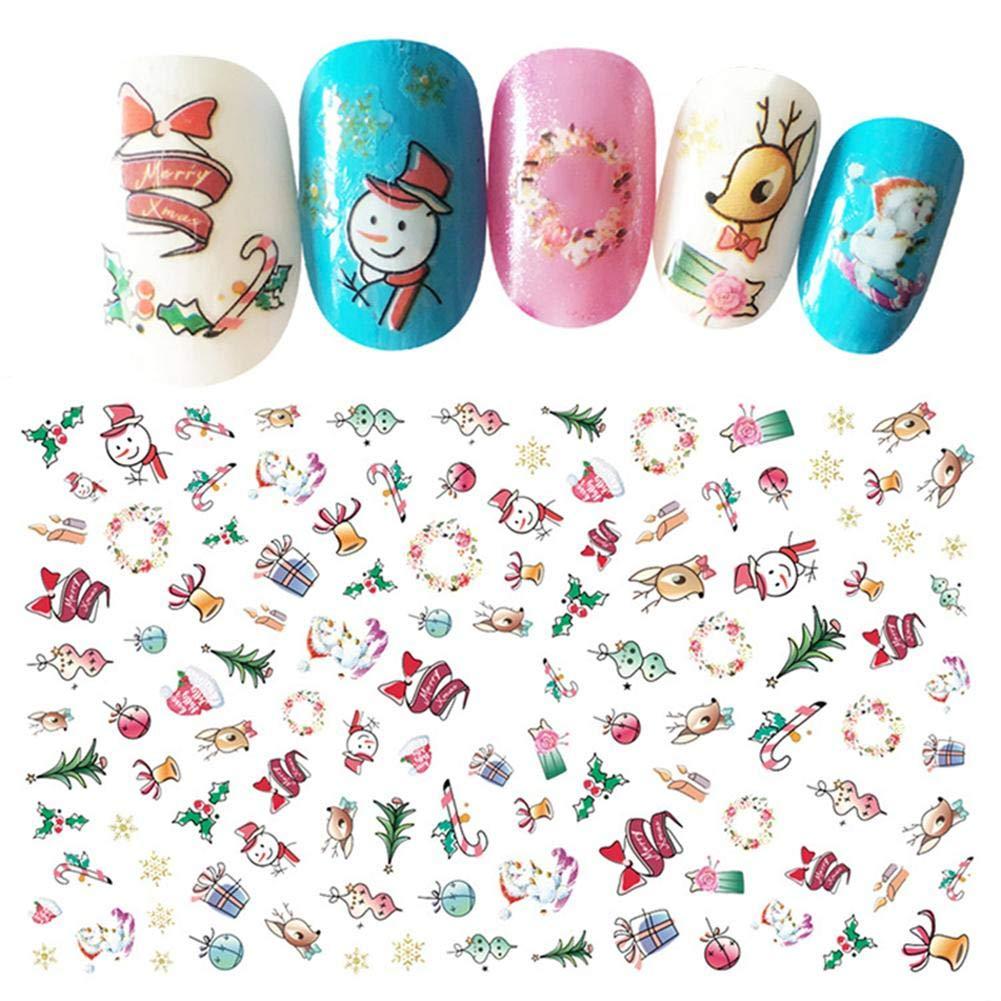 Calcoman/ías de u/ñas para Mujer Decoraciones de u/ñas Arte de u/ñas Accesorios Pegatinas Set manicura encantos Tip Decor