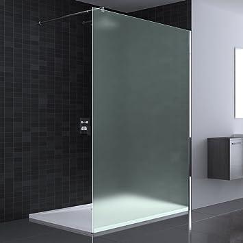 paroi de douche fixe verre depoli. Black Bedroom Furniture Sets. Home Design Ideas