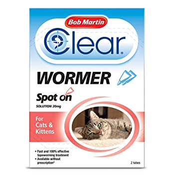 PET-597662 Bob Martin Spot On Antiparasitario - Gato/Gatitos (2tube): Amazon.es: Hogar