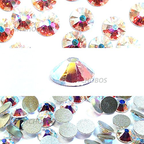 - Swarovski 2058 Foiled Flatbacks SS5 Crystal AB 10 gross (1440) No Hotfix Rhinestones Factory Pack