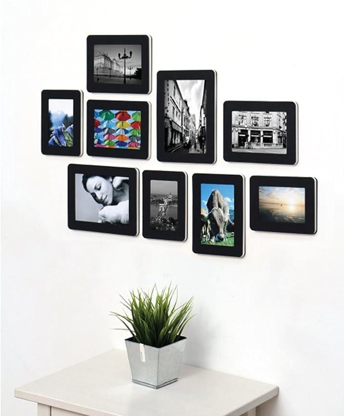 Dekorative Papier-Fotorahmen von 9 leicht Wand & Tisch Top Foto ...