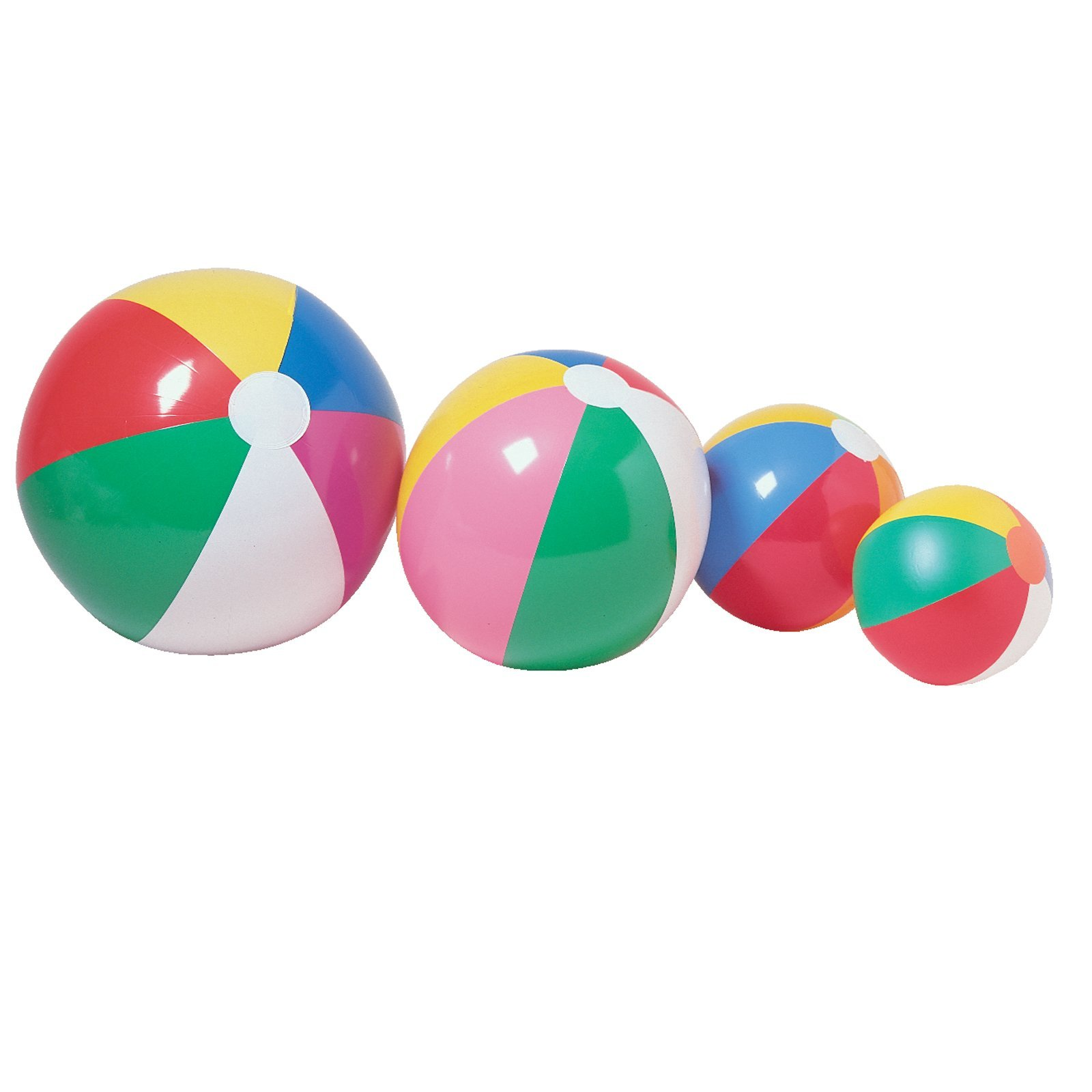 One Inflatable Beach Ball 12'' Party Supplies