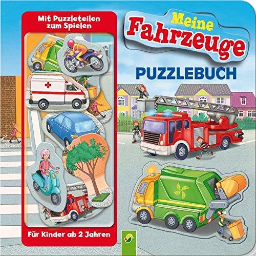 Puzzlebuch - Meine Fahrzeuge: Mit 10 Puzzleteilen zum Spielen