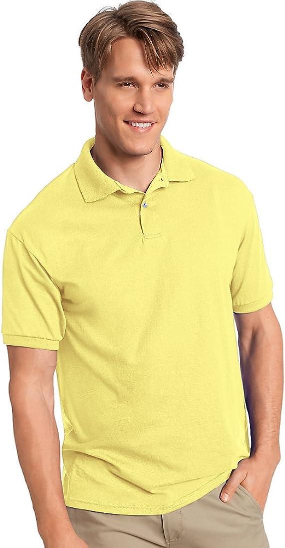 Camisa de polo de hombre Comfortblend Ecosmart, amarillo, medio ...