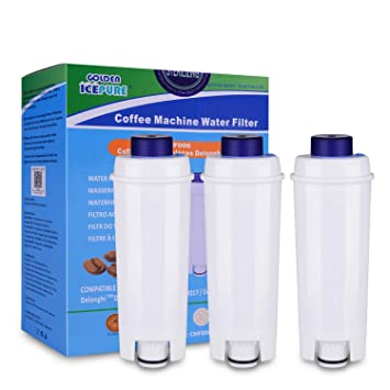3x DeLonghi Wasserfilter DLSC002 Filterpatrone ECAM ESAM Kaffeevollautomat