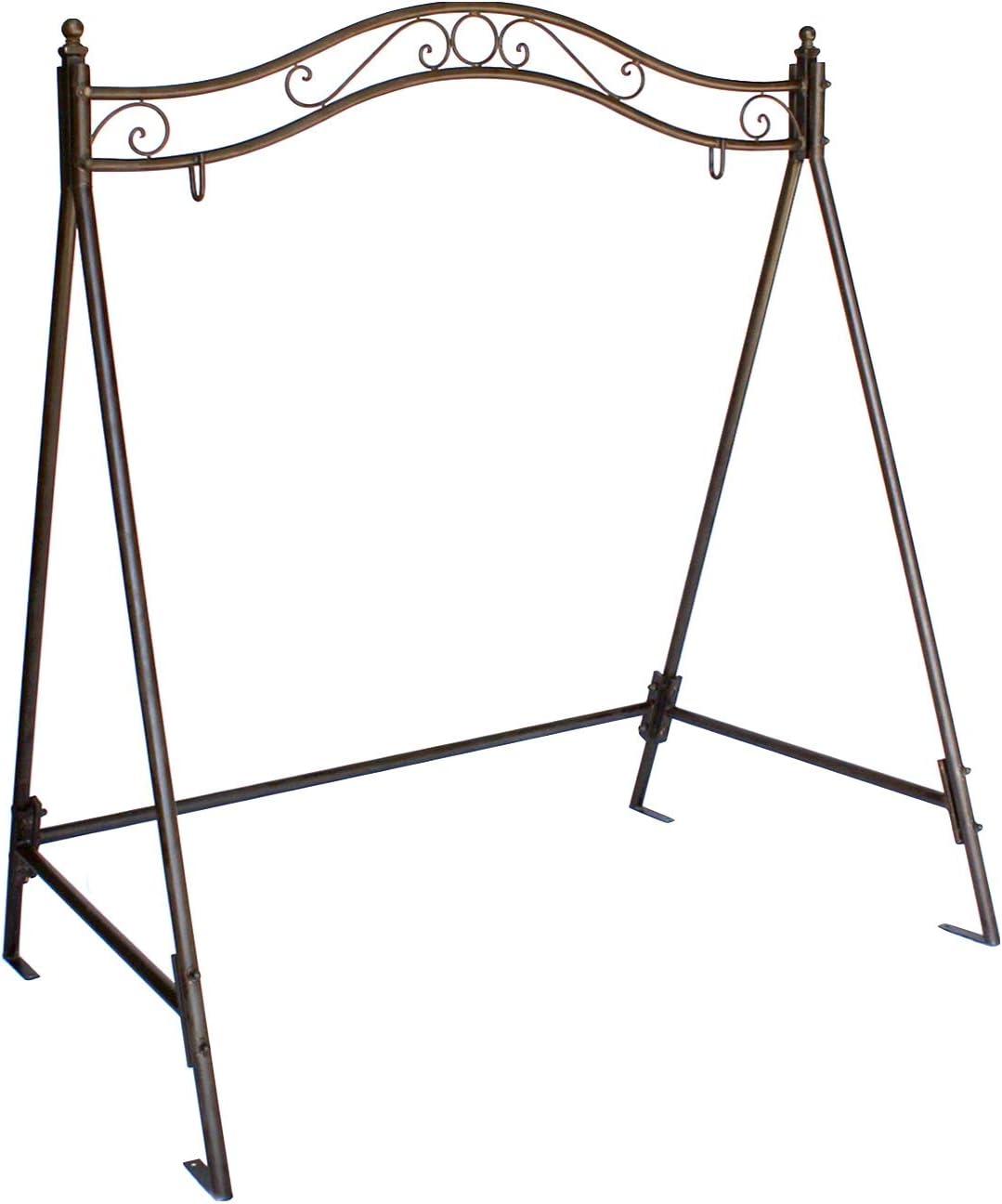 Estructura para balancín 082505 columpio de jardín de hierro ...