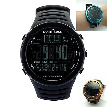 Msxx Multifuncional al Aire Libre Deportes Reloj electrónico, Impermeable y de Alta presión Especial táctico