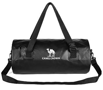 CAMEL CROWN Bolsa Deporte Bolsa Viaje Mujer Hombre Unisex 26L Impermeable Duffle Bag