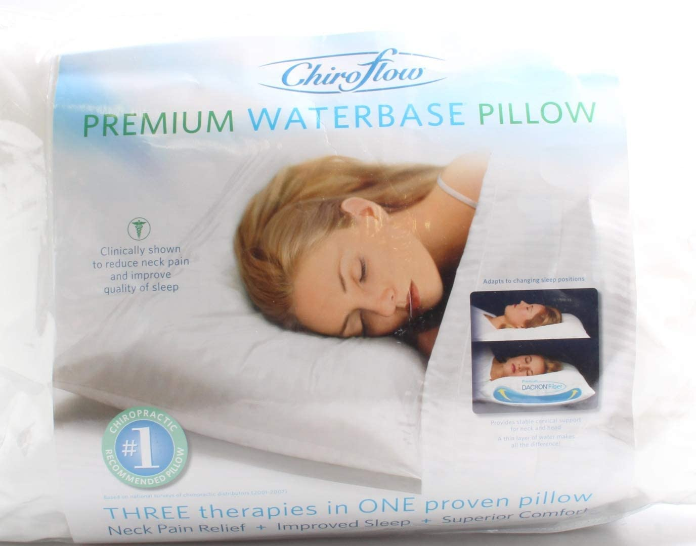 Chiroflow Pillow- 2 Pack