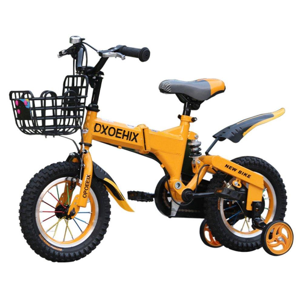 QXMEI Bicicleta Niños Absorción De Choque 12/14/16/18 ...