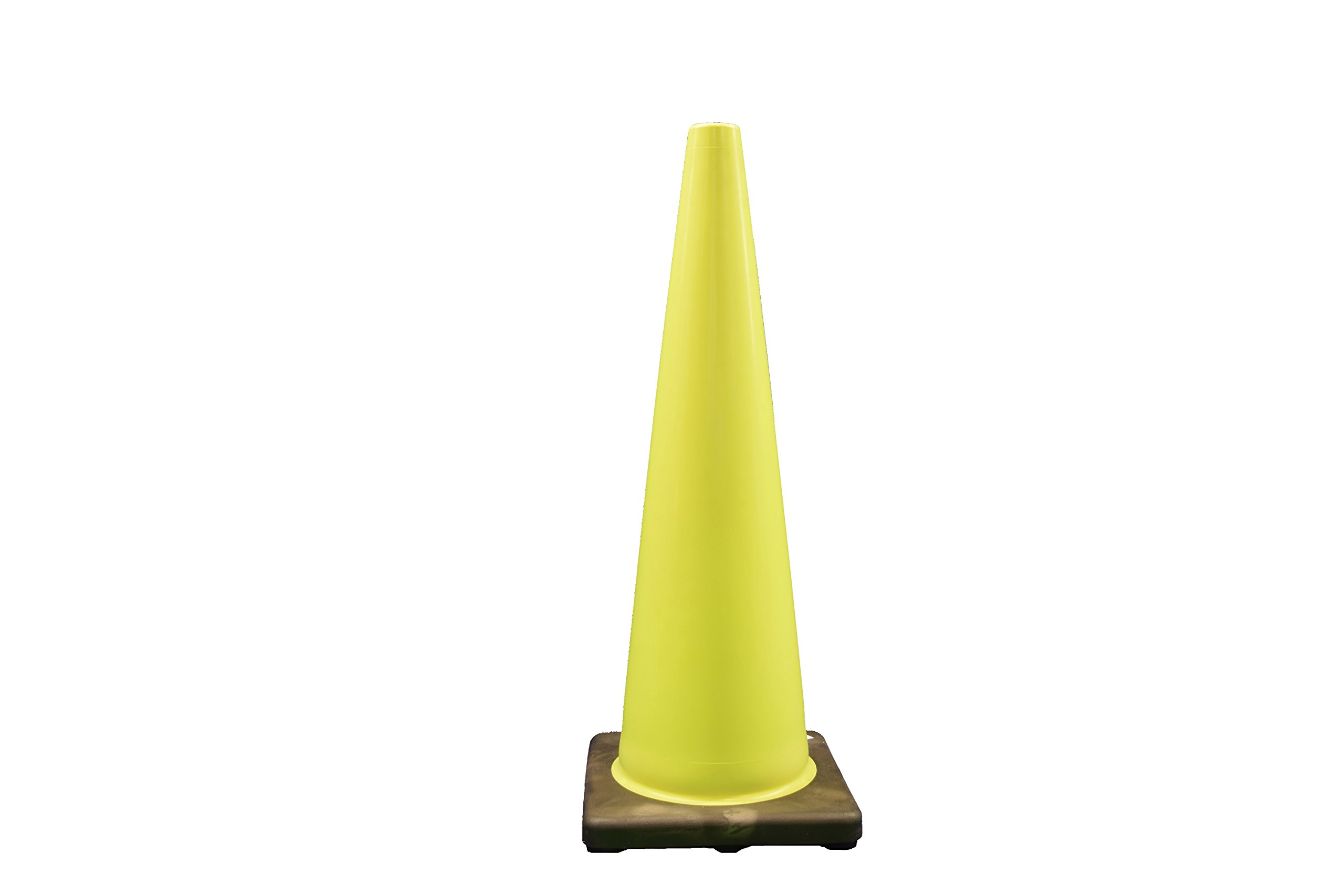 Cortina Safety Products 03-500-08LI W Cone, 36'', Lime