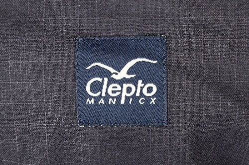 Marsupio blu scuro Cleptomanicx Hemp heather