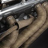 "DEI 010127 Titanium Exhaust Heat Wrap with LR Technology, 2"" x  50 Roll"