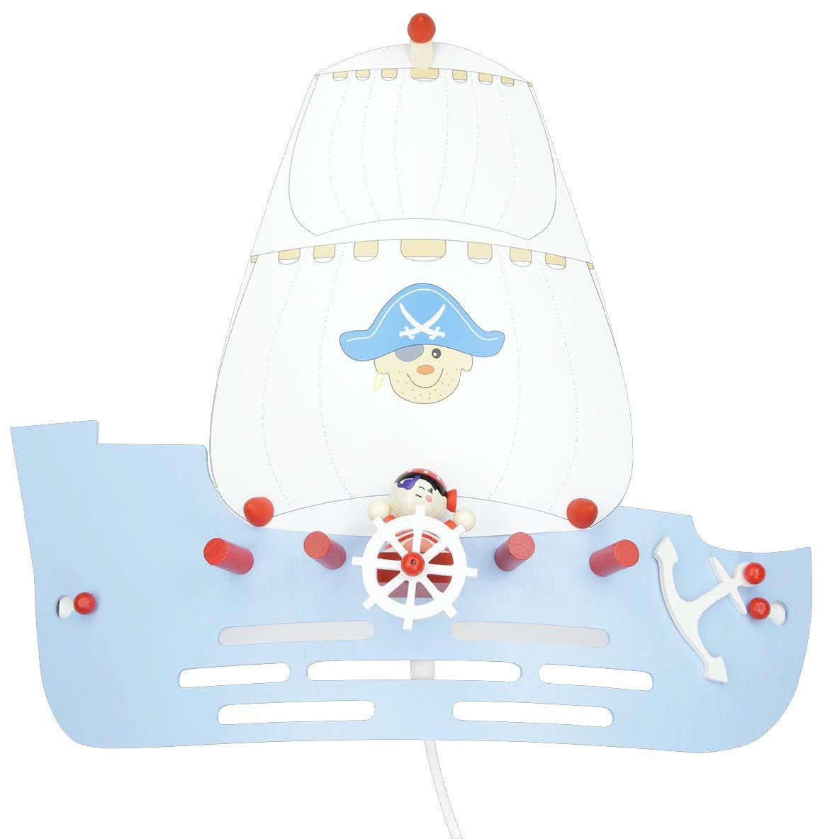 Elobra Wandleuchte Piratenschiff, 1 flammig ELO-125809