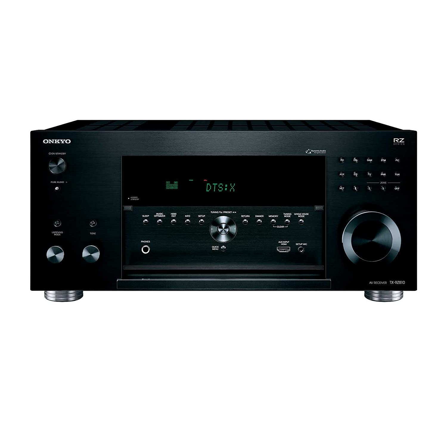 home theater head unit. onkyo tx-rz810 7.2-channel network a/v receiver home theater head unit c
