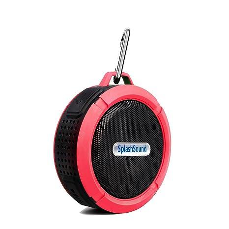 Amazon.com: Altavoz Bluetooth con ranura para tarjeta micro ...