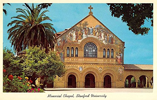 Group Of 7 Santa Clara California Stanford University Antique Postcards K63750