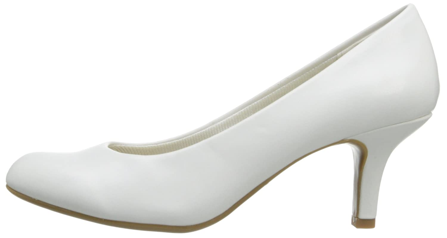 Easy Street B00G0KZ7JI Women's Passion Dress Pump B00G0KZ7JI Street 11 B(M) US|White 453770