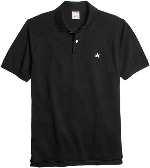 Brooks Brothers Mens Original Fit Performance Pique Polo Shirt White