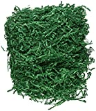 Arts & Crafts : 1/2 LB Crinkle Cut Paper Shred - Green
